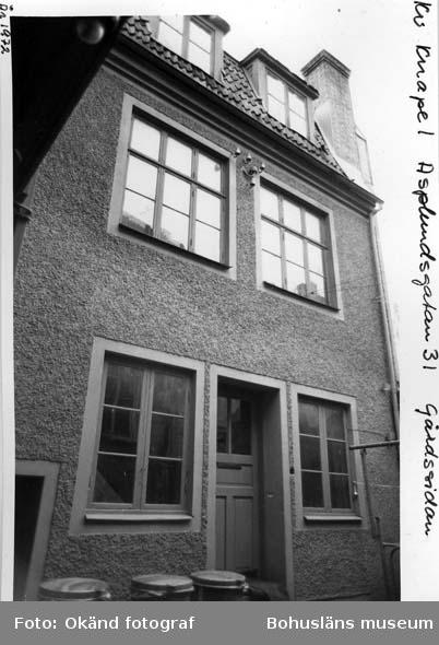 Asplundsgatan 31, gårdssidan 1972