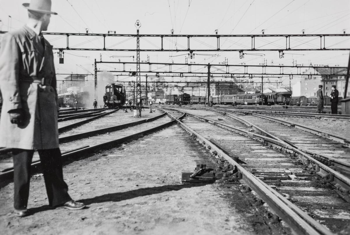 Fra Oslo Østbanestasjon.