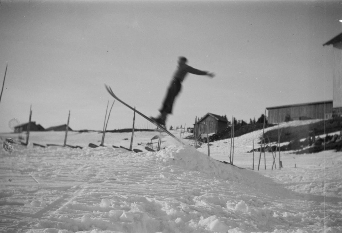 Skiløper på Nordseter.