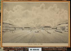 Vexiö Torg År 1860 [Litografi]