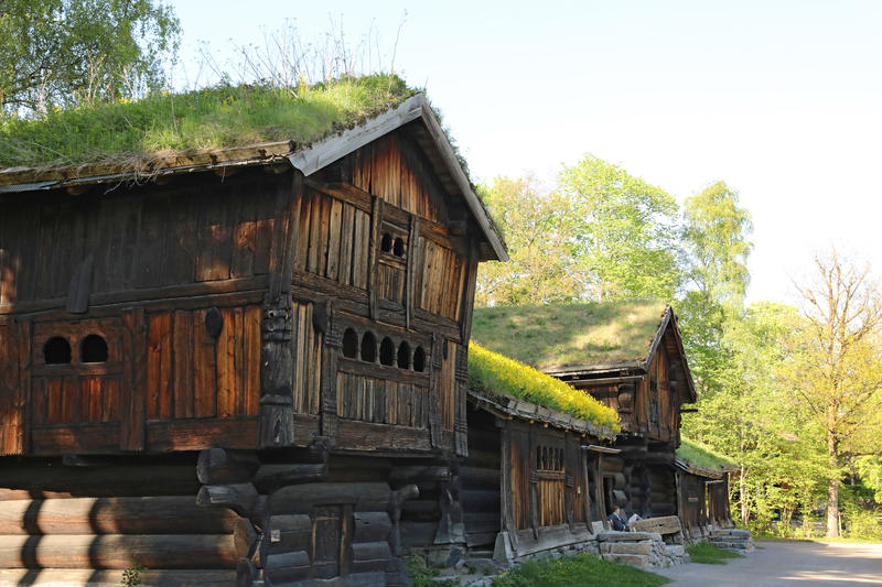 Setesdalstunet på Norsk Folkemuseum. Foto: Astrid Santa