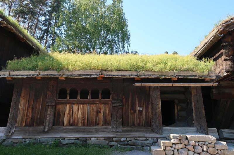 Stue fra Åmli, Setesdal, på Norsk Folkemuseum. Foto: Astrid Santa, Norsk Folkemuseum. (Foto/Photo)