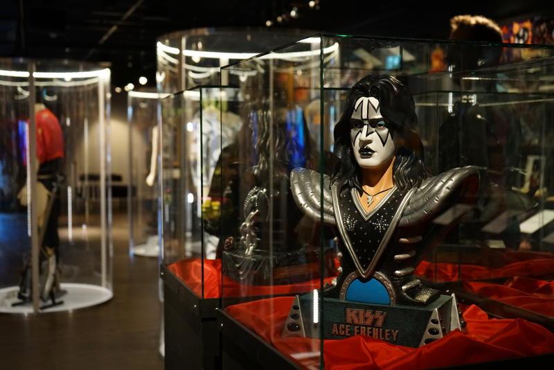 Kiss - The Exhibition stilt ut i Jämtli. Foto: Rockheim.