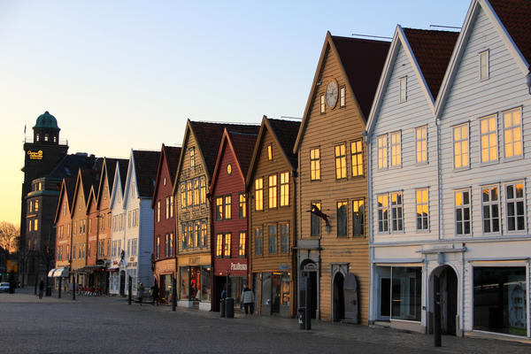 Bryggen i Bergen (Foto/Photo)