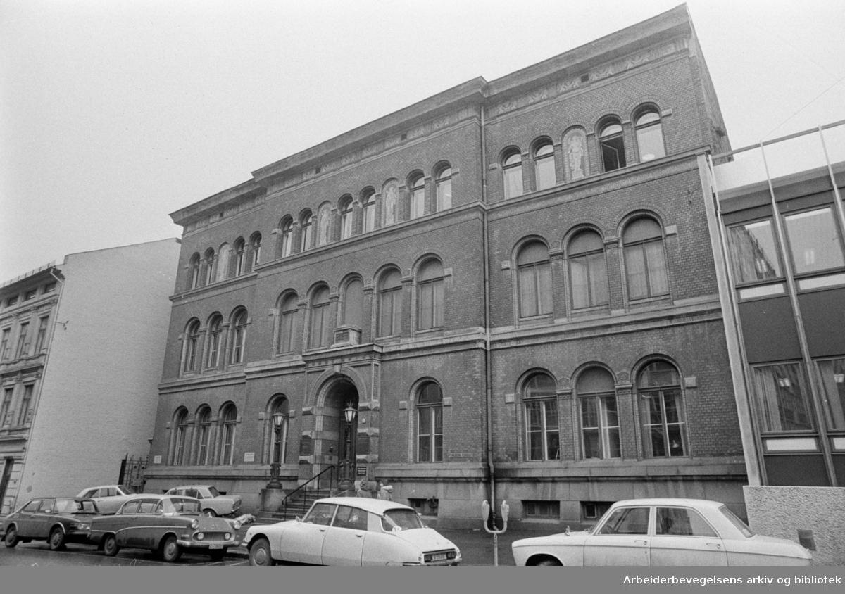 Munchs gate 4. Februar 1974
