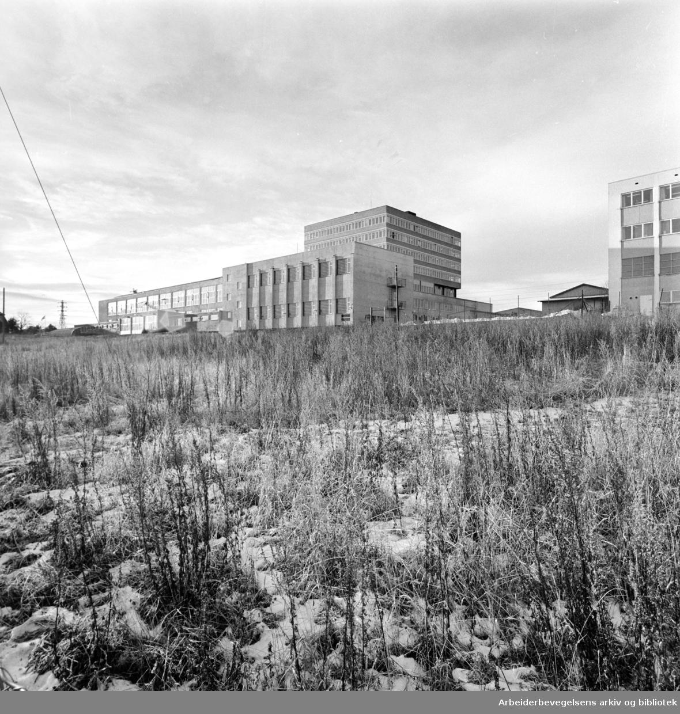 Løren: Arbeidernes Aktietrykkeri. Desember1962