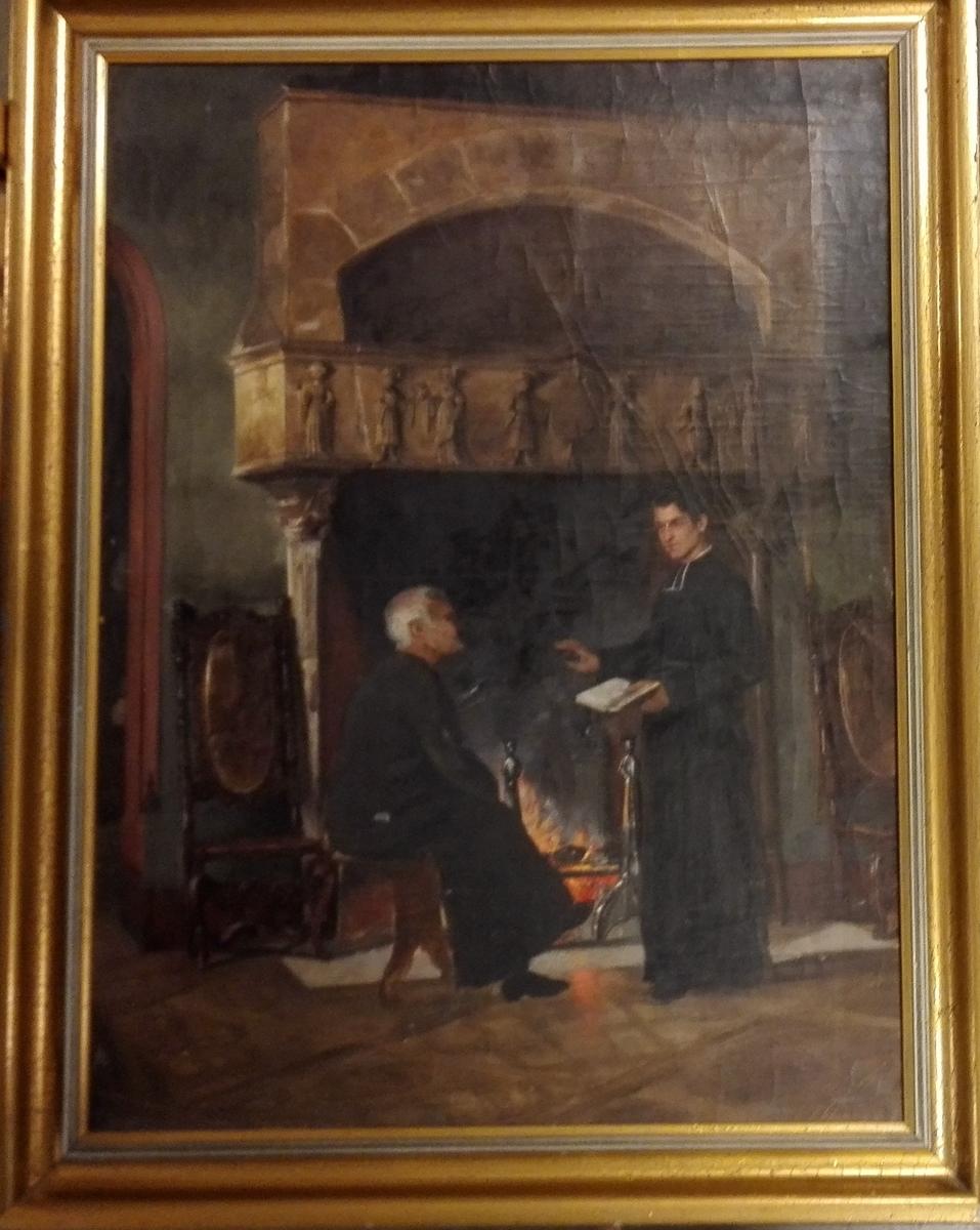 Interiør frå eit kloster.