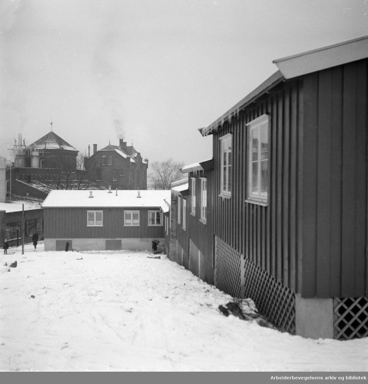 Kværner Brug. Læregutthjemmet. Januar 1952