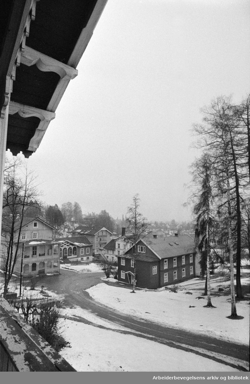 Grefsen Sanatorium. Desember 1971