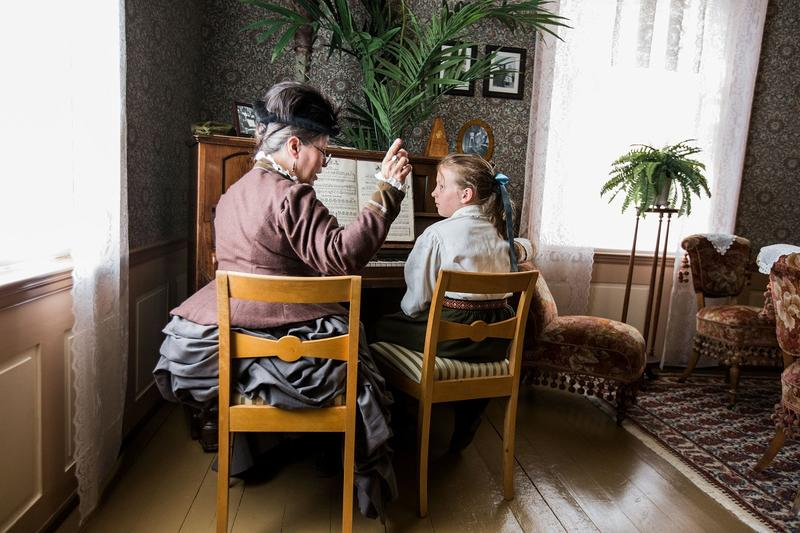 Kustus anno 1880. Foto: Jan Ove Iversen