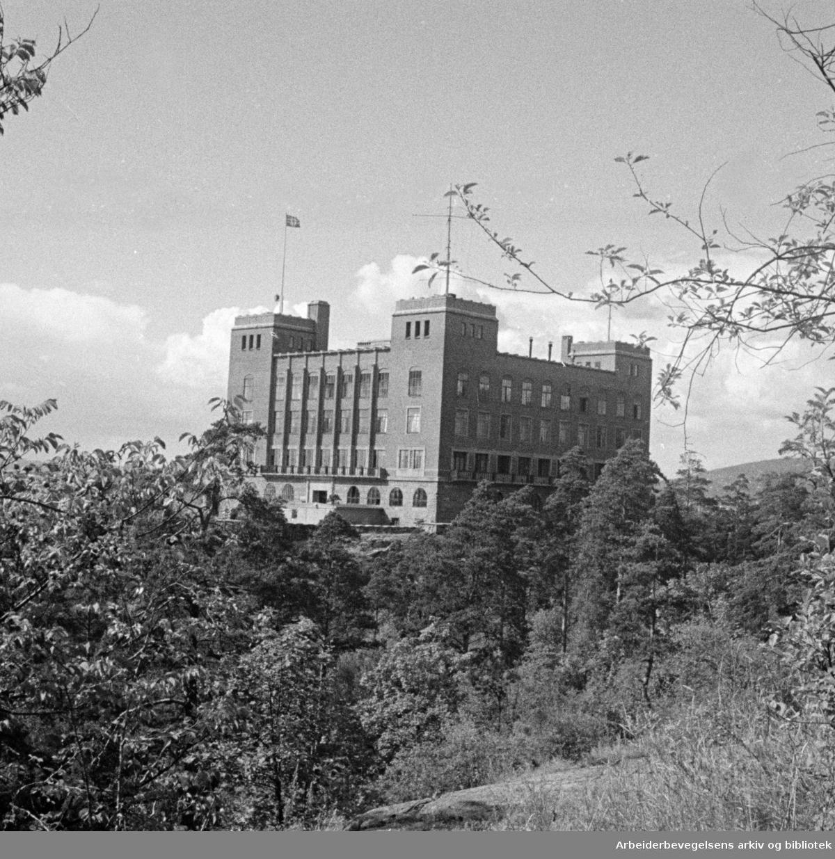 Ekeberg: Sjømannskolen. 1941