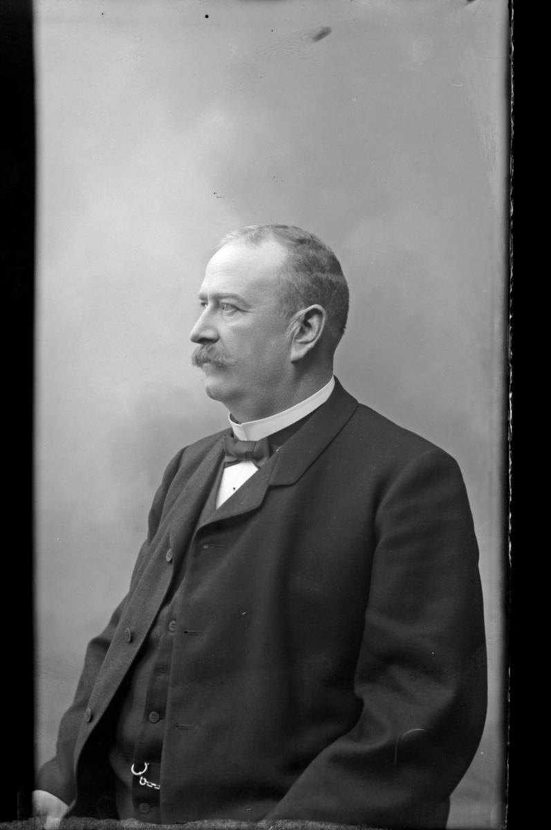 Stationsinspektor E. A. Gezelius