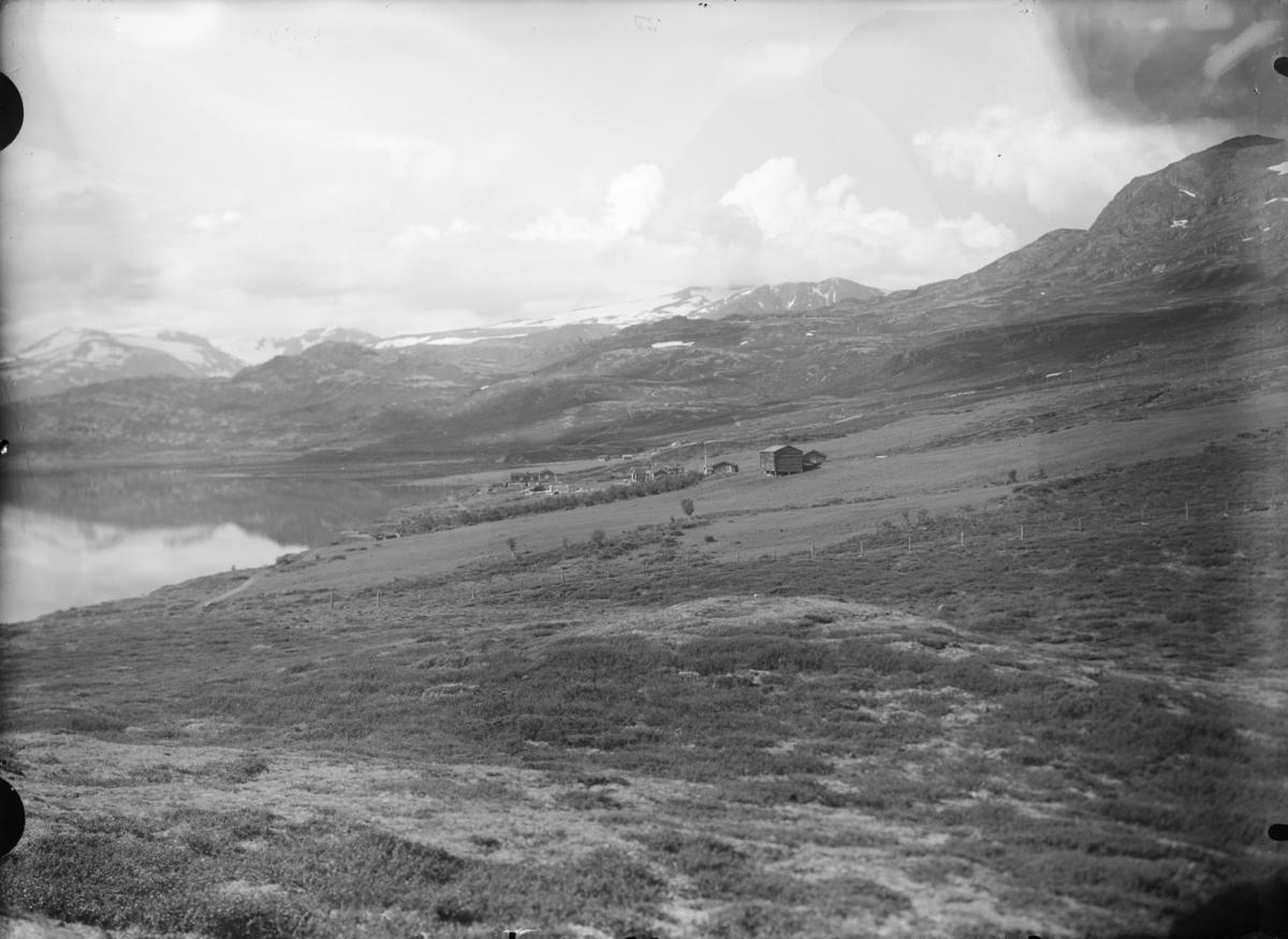 Sjodalen, utsikt mot Bessheim og sørvest