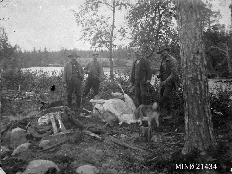 Hågen Olsen,  Olaf Broen,  Anton Storrøsten,  Stor-Hans