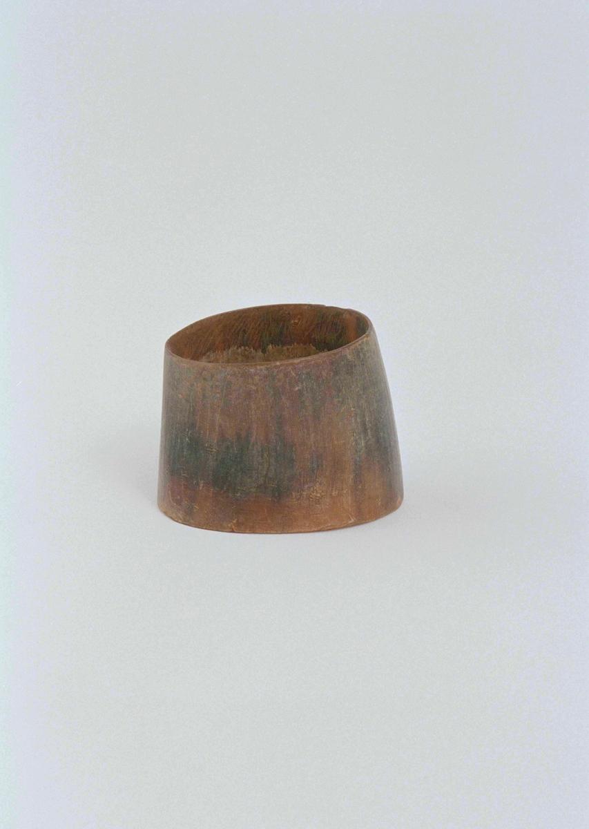 Korvhorn av oxhorn.