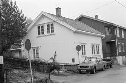 Lindruppbakken 2 i Drøbak. Hovedbygget i den såkalte Aasheim