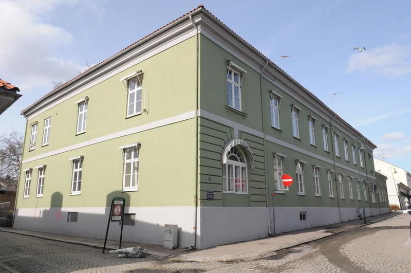 Fayegården sett fra sørøst hovedfasaden mot Svenskegata.