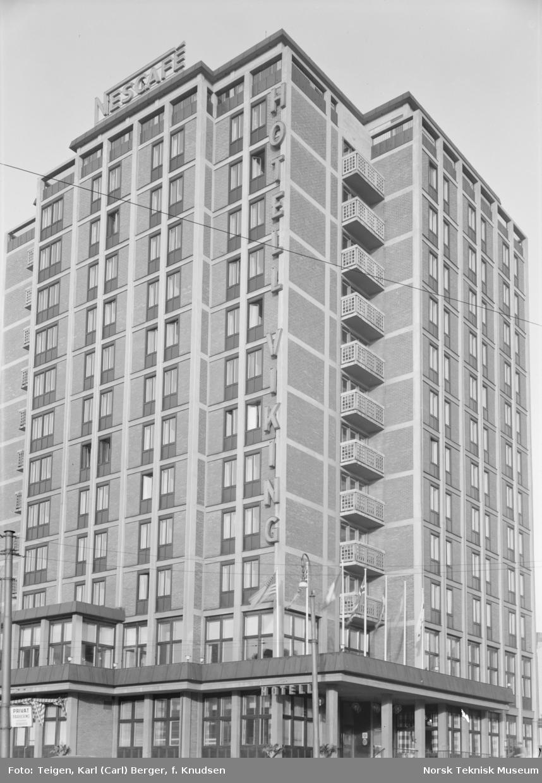 Fasaden på Hotell Viking.