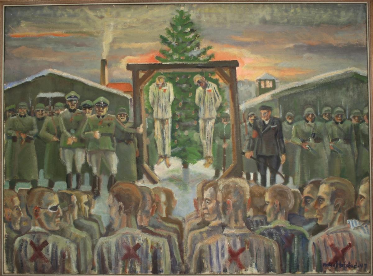 Henrettelse ved henging ved Espeland fangeleir