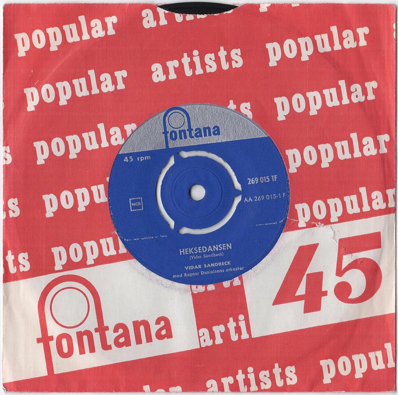Vidar Sandbeck single nr. 7