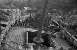 """H-1-50 """"Familien"""" som vrak Ålfjorden, sans. 1967"""