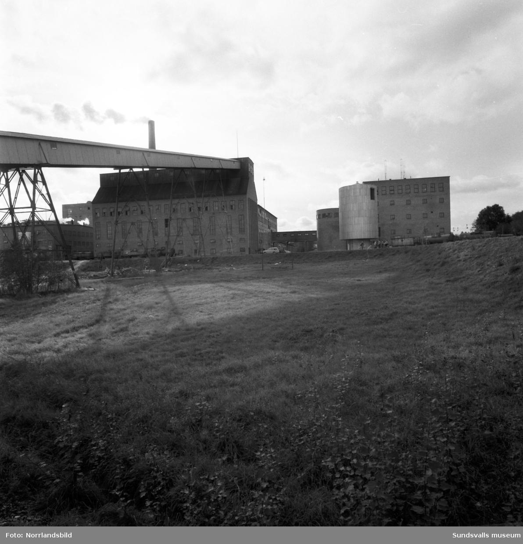 Östrands gamla pumpstation för kylvatten i Indalsälven.
