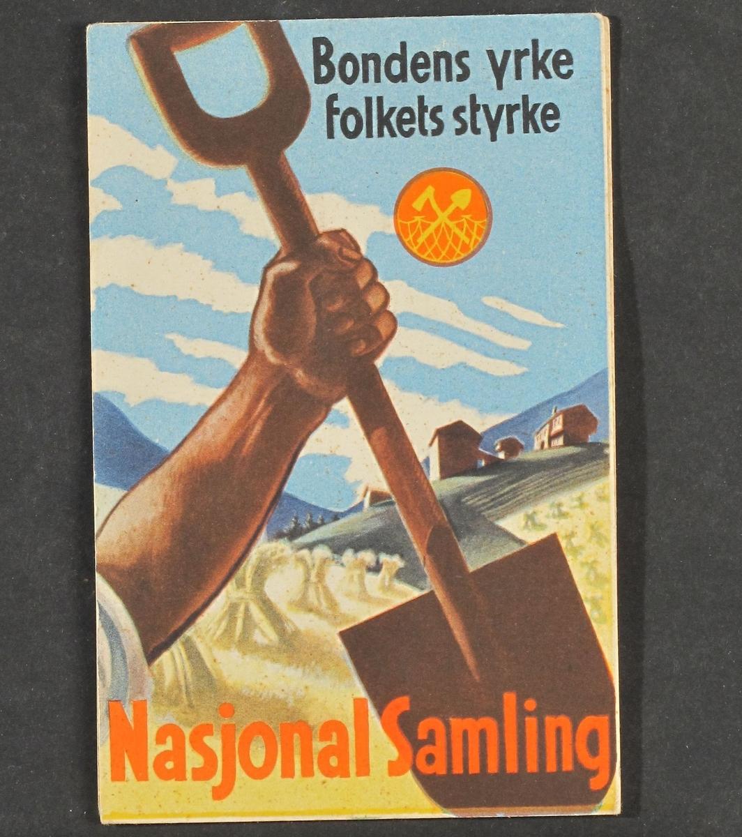 Postkort  fra krigen 1940.45.