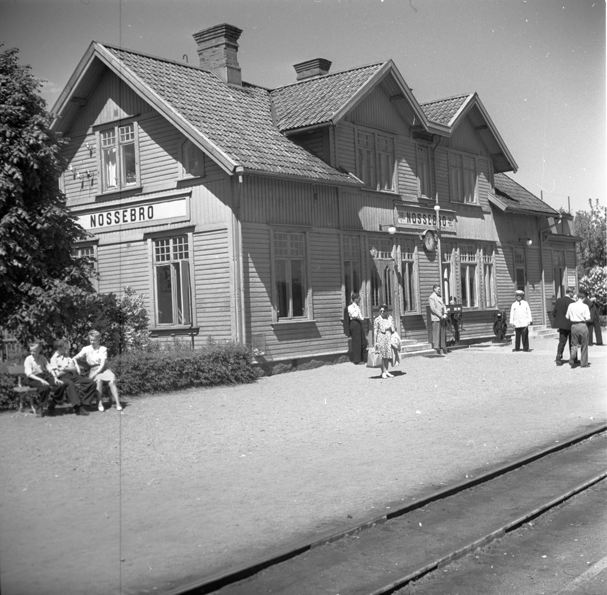 Nossebro station.