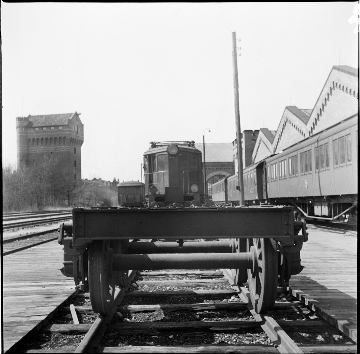 Boggi som användes till kanonvagn.