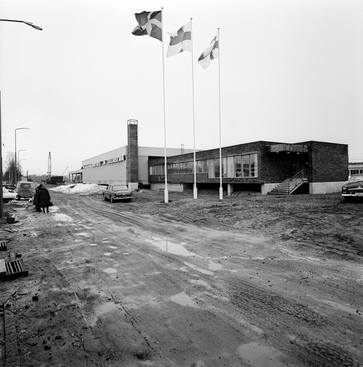 Anläggning i Nådendal. Tågfärja Värtan - Nådendal