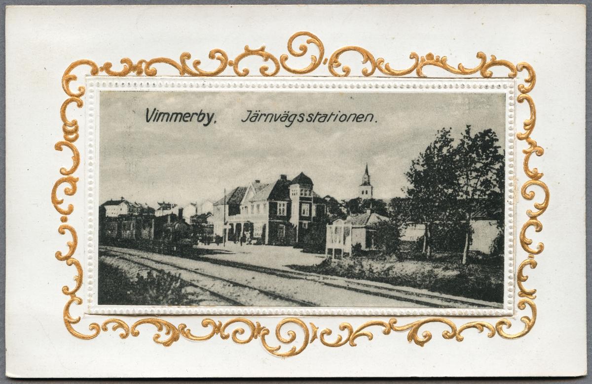 Stationen i Vimmerby.