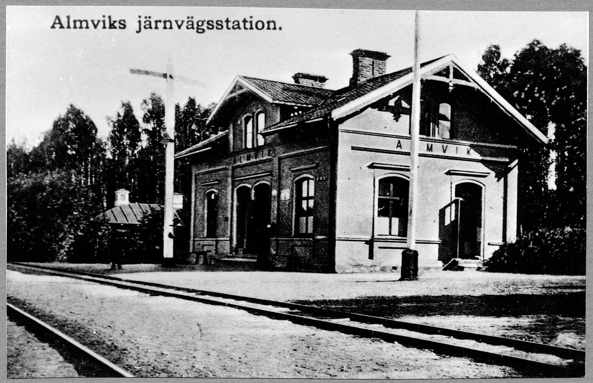 Almvik station.