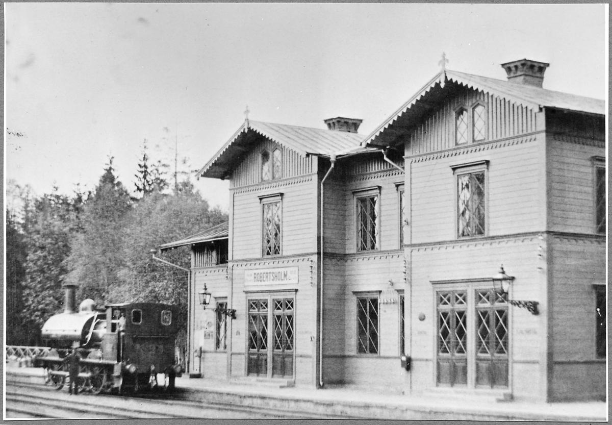 """Gävle - Dala Järnvägar, GDJ C 23 """"Gerda""""."""