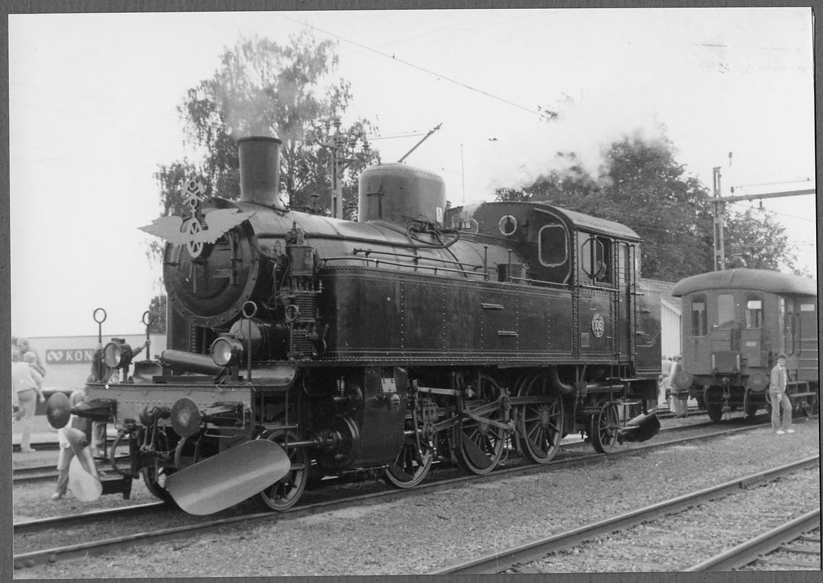 Bergslagernas Järnvägar, BJ Y3 106. Fotot taget vid BJ:s 100 års jubileum i Kil.