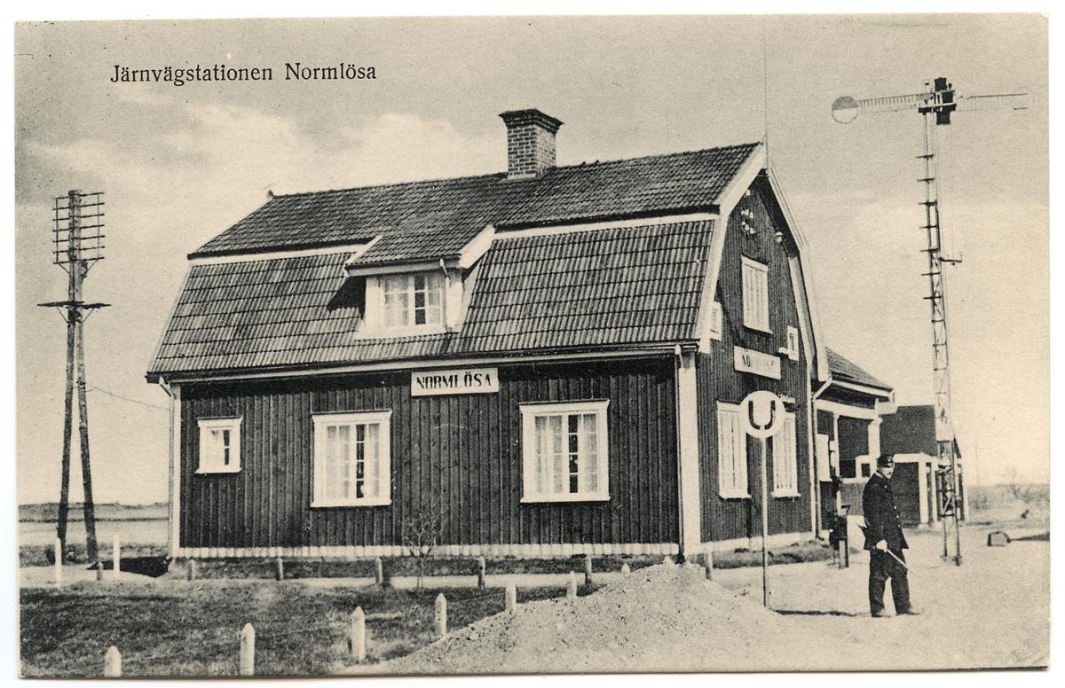 Normlösa station.