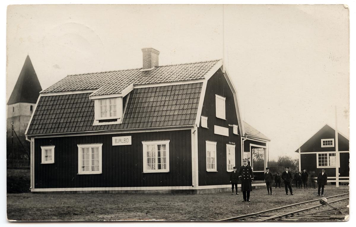 Bjälbo station.
