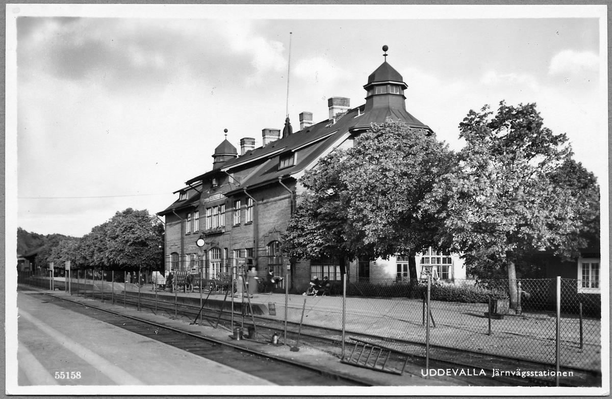 Uddevalla station.