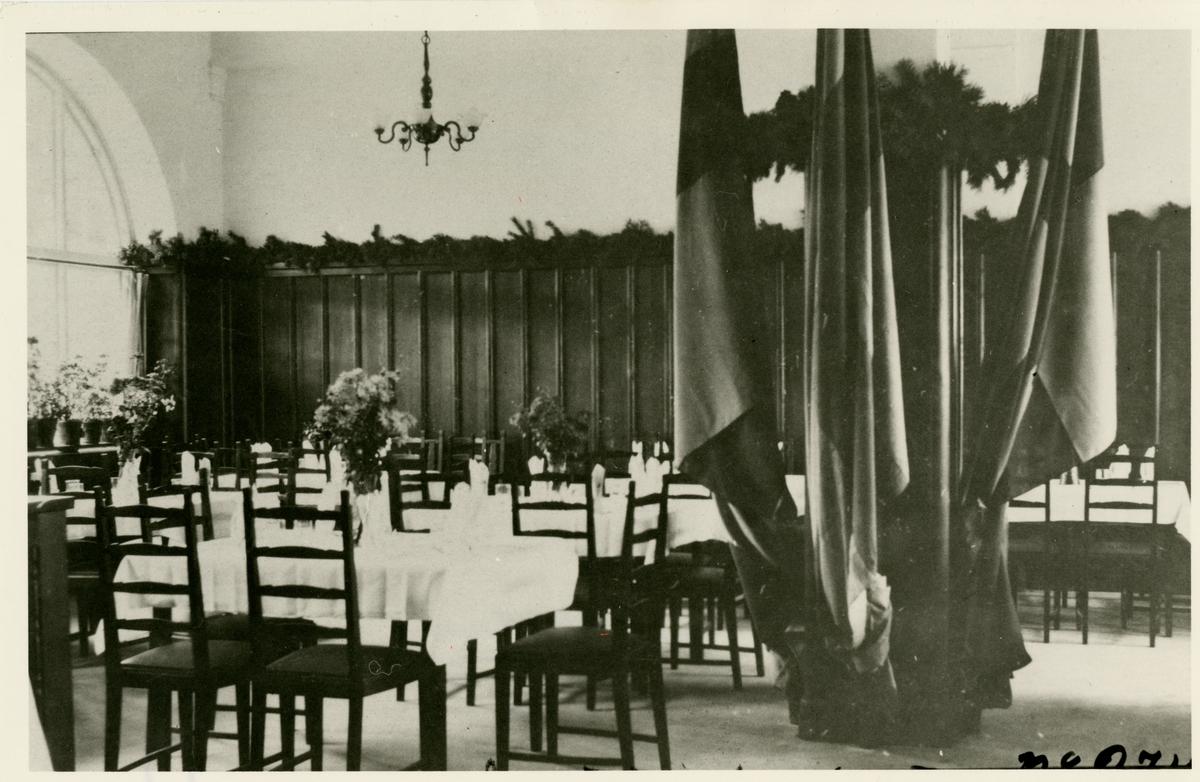 Haparanda station, 6 oktober 1919, 1 klass matsal