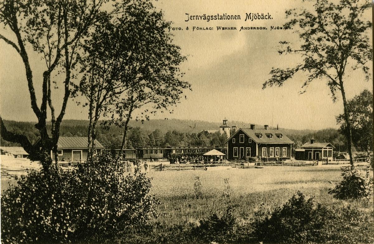 Vykortet skickat 1906