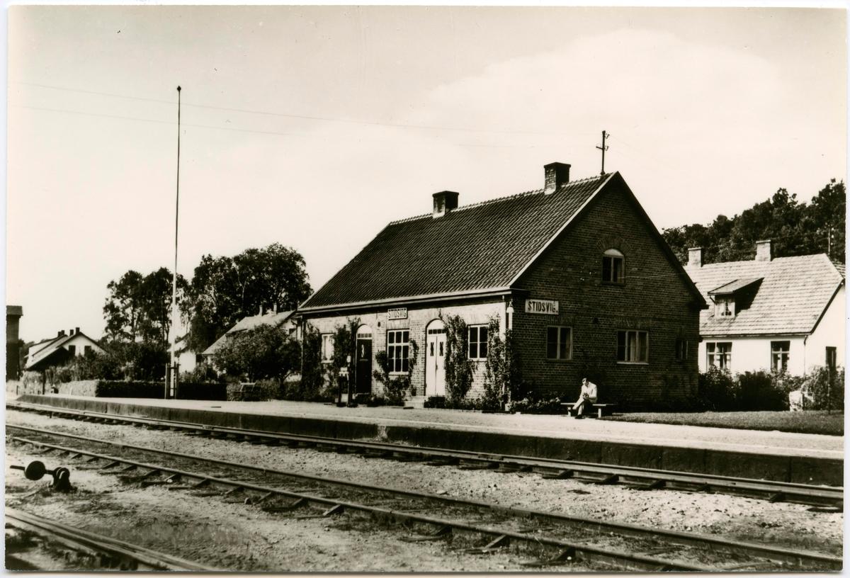 Stidsvig station.