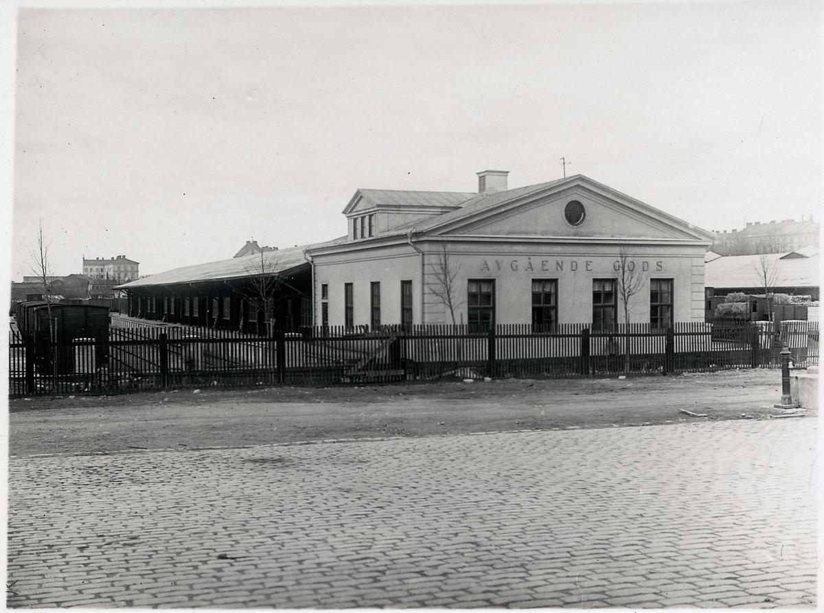 Stockholm Södra 1926 Magasinet för avgående gods.