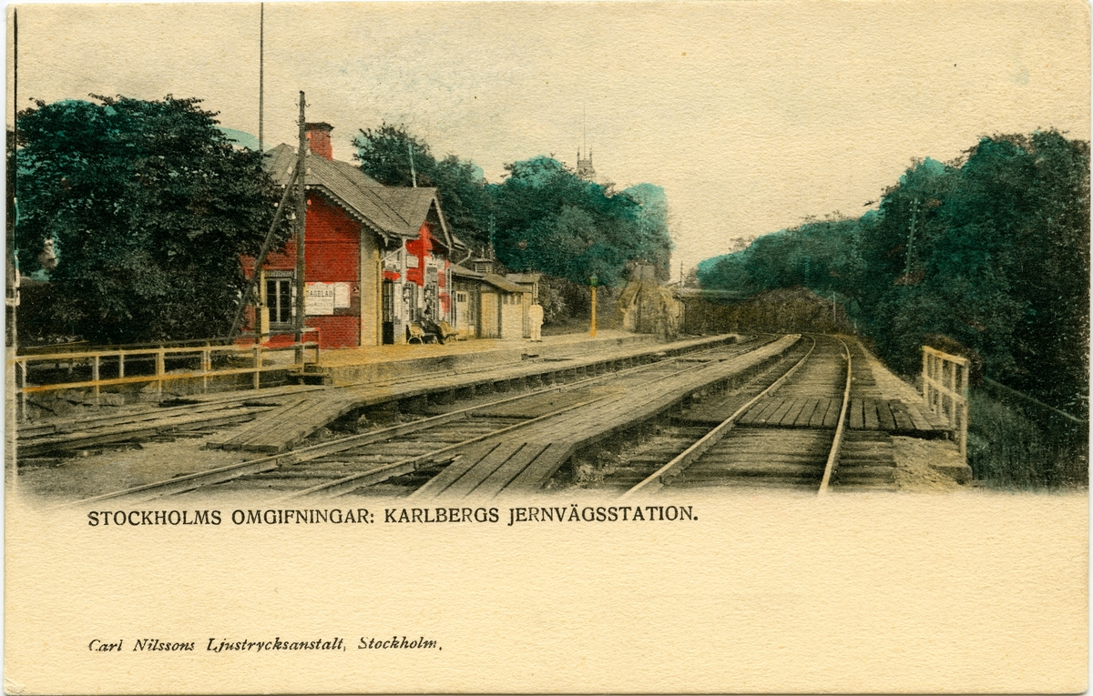 Karlbergs station.