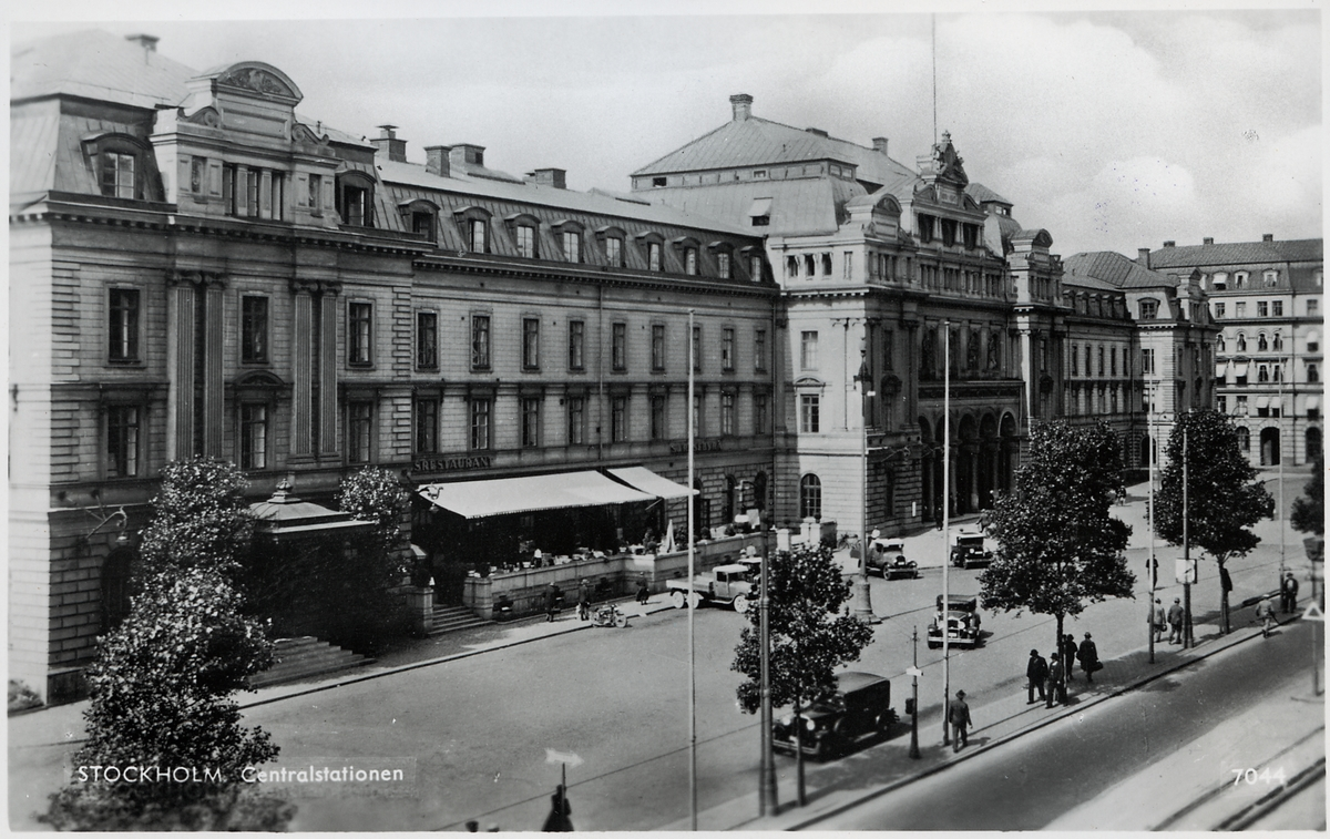 Stockholm centralstationen.