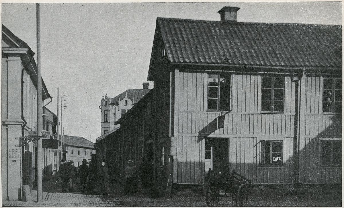 Örebro, Järntorgets västra sida