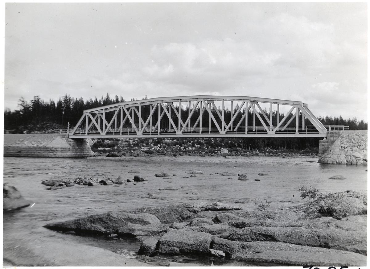 Bro över Vindelälven, stora spannet