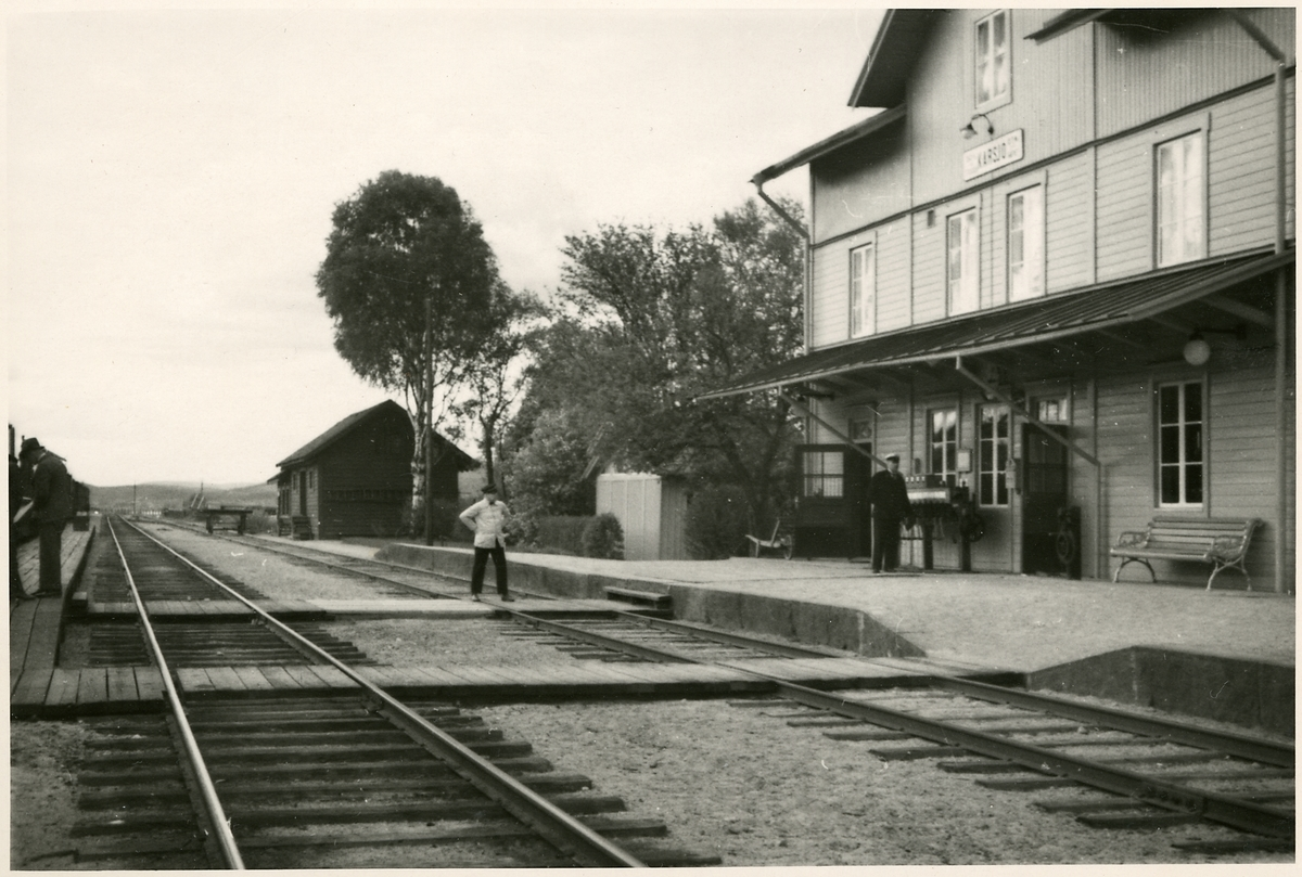 Karsjö station.