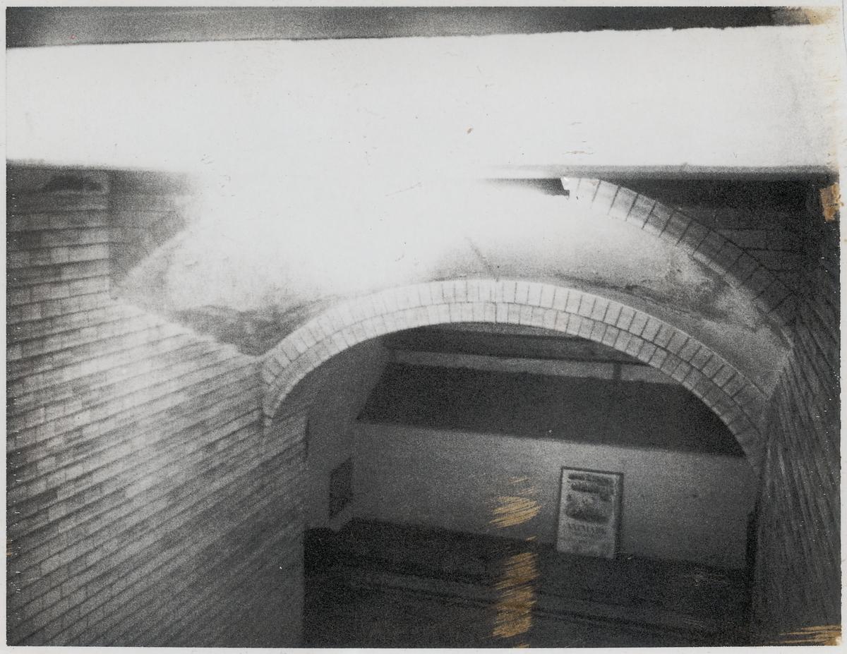 Eslöv, gångtunnel.