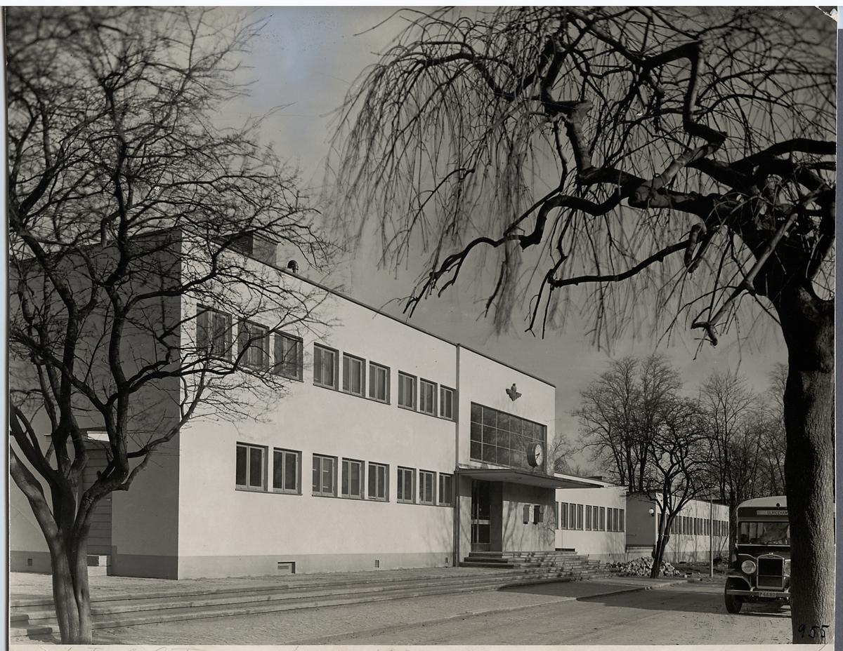 Falköpings centralstation.