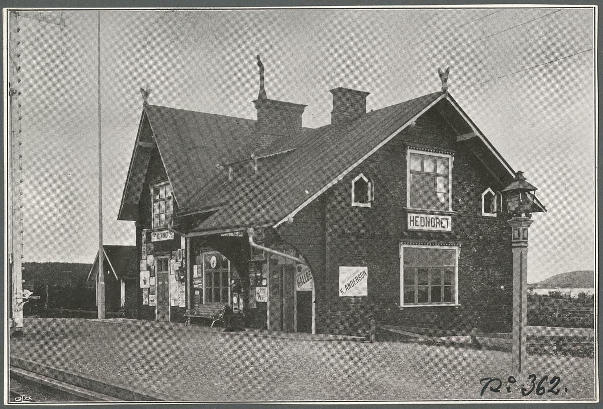 Hednoret Stationshus.