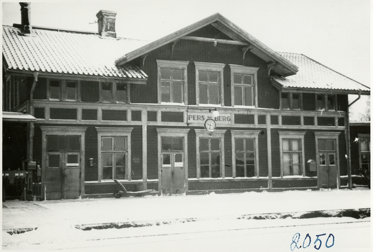 Persberg station.